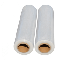 China LLDPE transparent hand pallet stretch wrap film for packaging