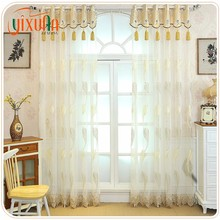 Wholesale china supplier beautiful window gauze royal new design curtains