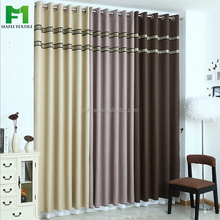 Shaoxing embroidered sun reflecting linen fabric blackout curtain