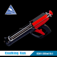 KSN1-380ml 10:1 Two Component Dispensing Gun for Sealant and Adhesive