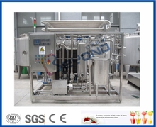 Food Grade Mini Milk Htst Pasteurizer