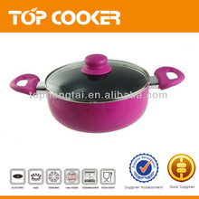 aluminium non stick cooking pot