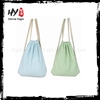 Professional womens shopper canvas packback bag with high quality