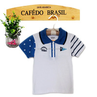 Wholesale funny printed baby boy short sleeve t shirt new design factory price