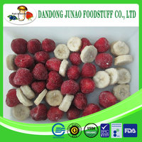 blended frozen bulk mixed fruit berries and banana fruit