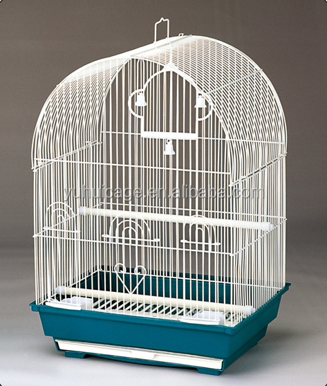 wholesale solid and practical import round dome wire bird pet cage 3100