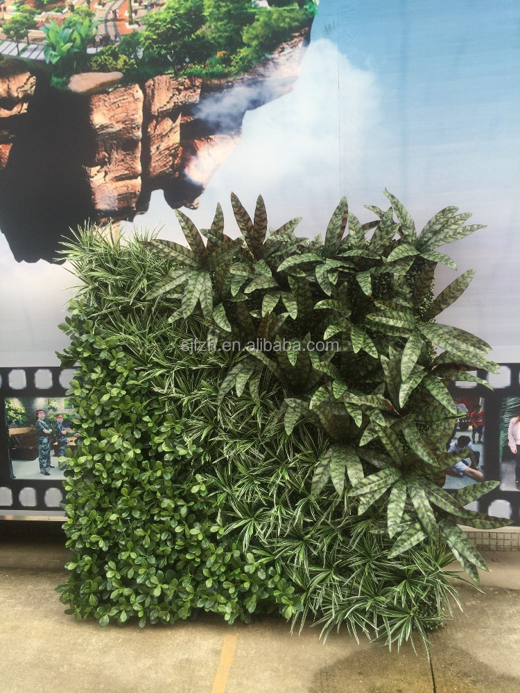 SJ Best price artificial foliage / artificial green wall / artificial plant wall