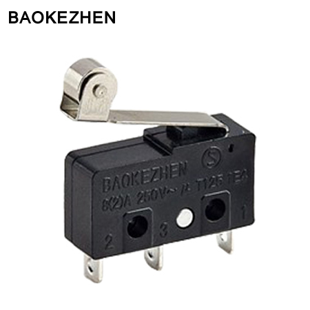 On-off roller lever Micro Switch T125 5E4 for Juicer,coffee maker,humidifier,power tool ,household appliances.