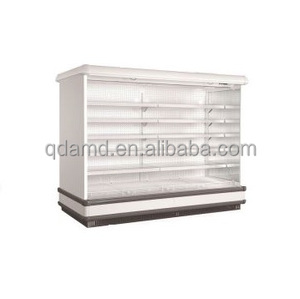 Supermarket refrigerated open display cabinet