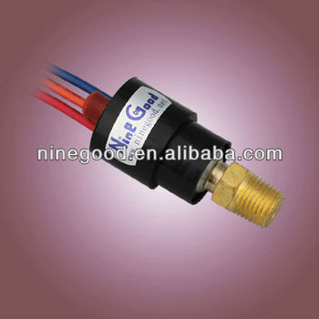 HVAC manual reset pressure switch (204)