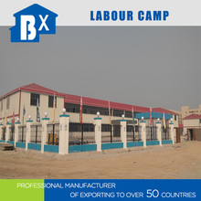 prefab house construction for labor camp