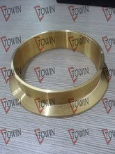 "2""/3""/4"" Tri Clamp solder brass/copper ferrule"
