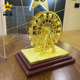 cheap custom metal Ferris Wheel Souvenir Gift 3D Miniature Brass Models