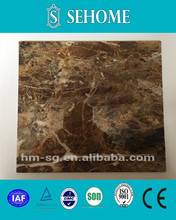 pvc artificial fashionable marble stone for interior decoration