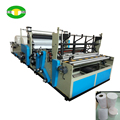 Automatic color embossing toilet paper making machine