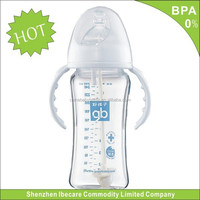Cheap price 2014 Hot Sale bpa free 270ml Funny Penis Shaped Feeding Bottle in bulk