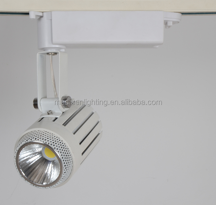 Modern design sexy black cover 12w led track lighting for jewelry store shopping mall showcase with cheapest price