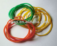 Transparent Pure Nature Rubber Elastic Bands