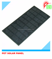 PET laminated frameless solar panel
