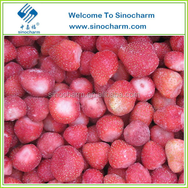 IQF strawberry, Frozen strawberry Grade A/B