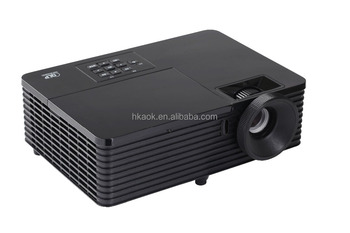 3500 ANSI Lumens DLP High Definition Projector Home Theater Projector 1080p Supported for Party Movie Business Education