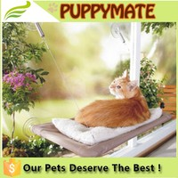 As seem on TV wholesale hight quality sunny seat cat hammock bed,pet bed