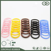 Factory price silicone rubber o ring for thermo