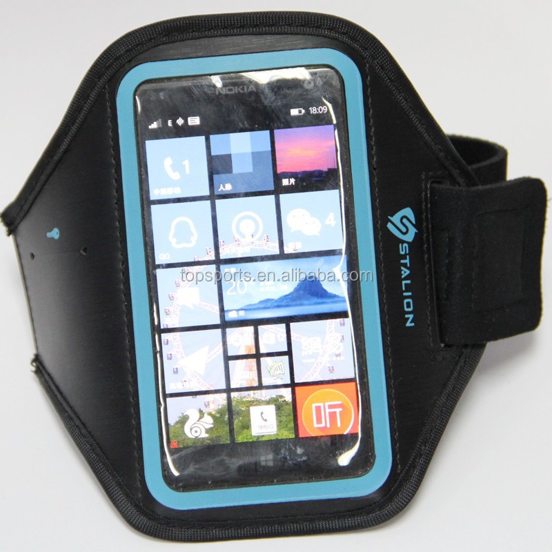 2015 promotional neoprene neoprene wrist mobile phone case