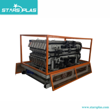New product transparent PVC plastic roof tile sheet plate making machine production line
