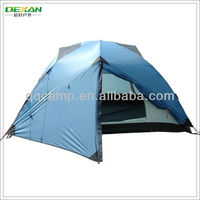 Mountaineering tent with aluminium poles