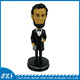 "Golden Supplier Resin Souvenir 7'"" President Head Shaking BobbleHead Doll"