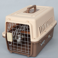 outdoor travel transport plastic toy pet bird cage carriers W17