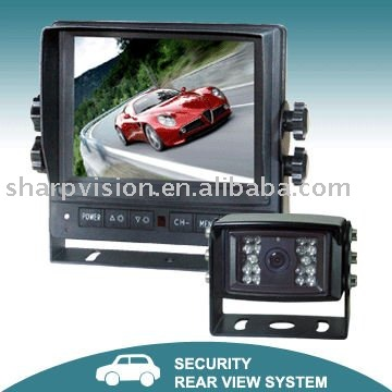 "5.6"" Digital car audio system with reverse camera"