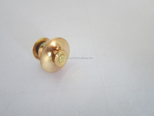 China gold color lapel pin back, lock in back for garment fasteners