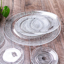 Manufacturers Wholesale Wedding and Hotel Decorative Crystal Lead Free Glass plate