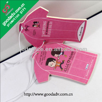 Hot sale paper car air freshener / room air feshener