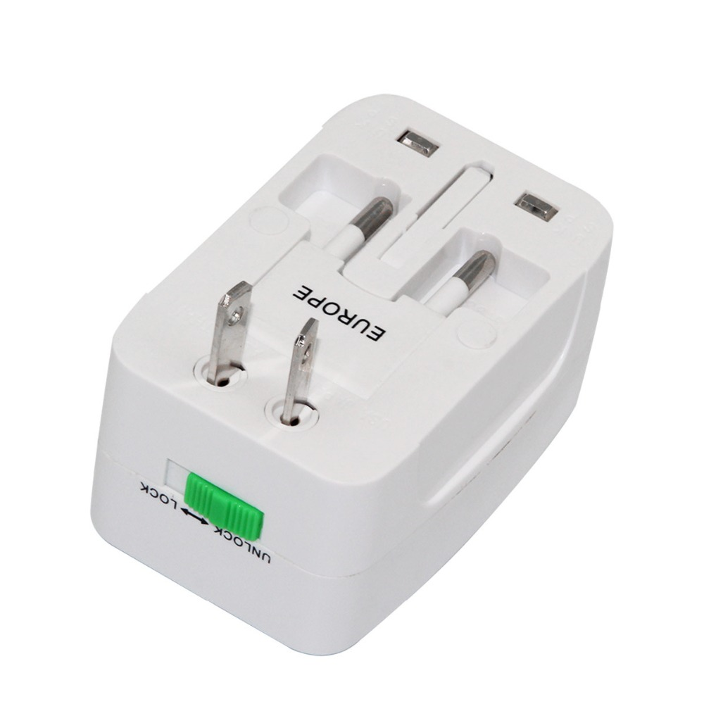 U1000 Multifunction Plug Socket Universal World Wide Charger Adapter US /UK /AU/EU Plug Adaptor Socket For <strong>Travel</strong>