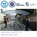2015 hot selling bike carriage shed bike storage shelter bike shed with unique design