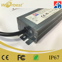 AC/DC CE FCC 60W 12V 5a CC/CV ip67 switching power supply LED driver for led lights