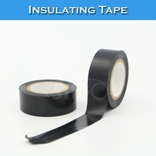 Electric Wire Black Self Adhesive Fabric PVC Insulating Tape