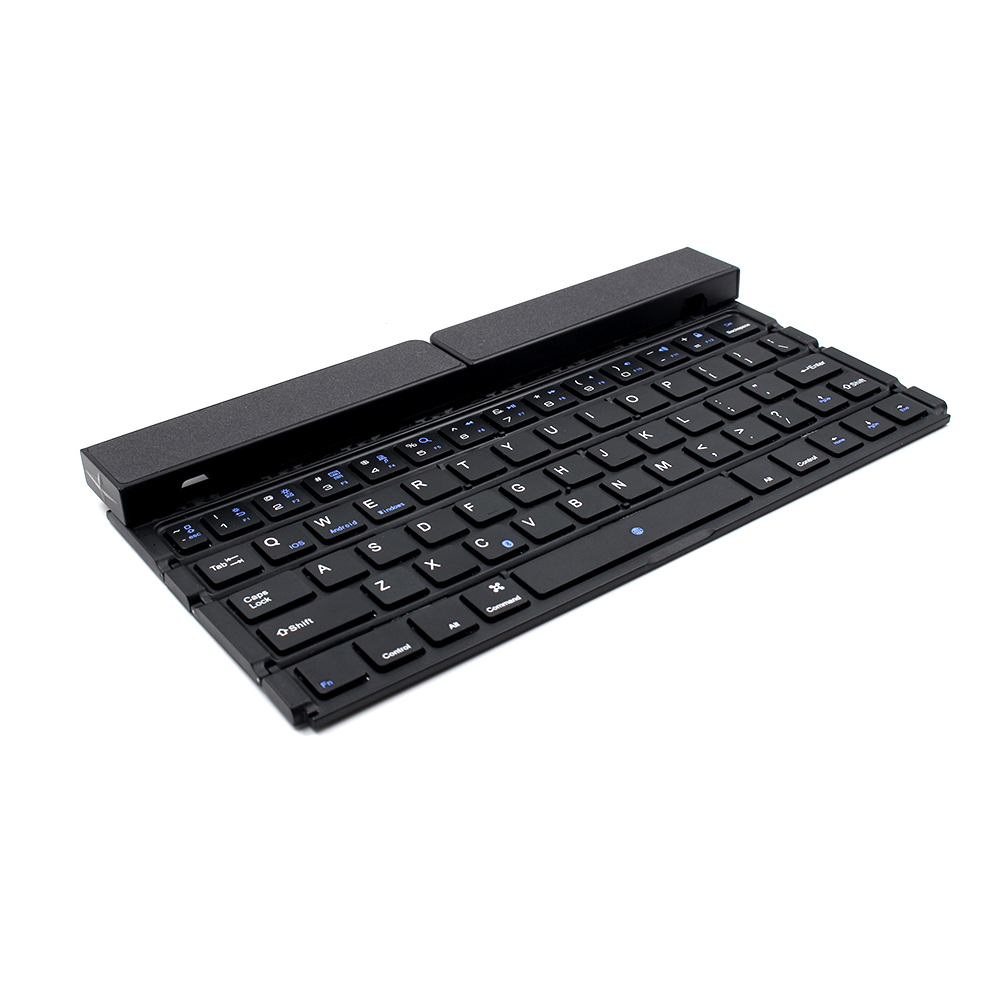 foldable bt3.0 wireless keyboard flexible smallest bluetooth keyboard with ce/rohs.fcc