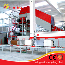 Refrigerator Recycling Plant/Fridge Recycle Machine