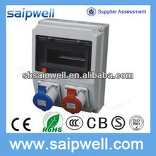 PLASTIC POWER INDUSTRIAL COMBINATION SOCKET BOX