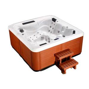 Factory sexy japanese massage hot tub with air and whirlpool massage