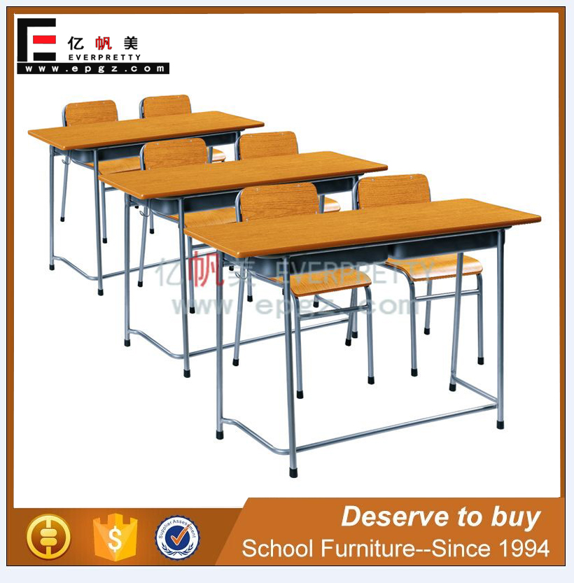 Primary school students training courses factory direct wholesale school kindergarten table double desks
