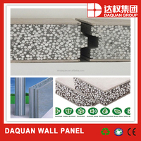 fast easy installation fiber concrete eps sandwich panel with SGS certificate