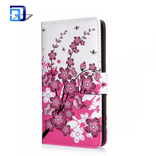 High Quality Flip Leather Wallet Print Stand Cover Case For Huawei Ascend Mate 7 Phone Accessories
