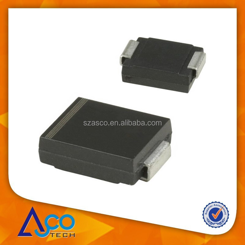 TVS DIODE 60VWM 96.8VC SMBJ60AHE3/5B for surface mounted application
