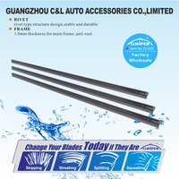 Auto Accessory Car Windscreen Frame Wiper Blade Universal Adapter