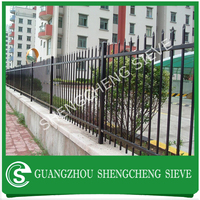Modern ornamental garden fence/brick fence/wrought iron fence cost